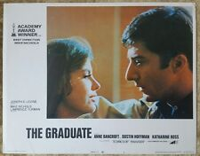 The Graduate - 1972 ReRelease 11x14 Lobby Card #1, Dustin Hoffman Katharine Ross