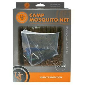 UST 20-BUG0002 Polyester Camp Double 2 Person Sleeping Mosquito Mesh Net