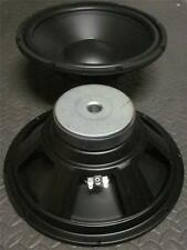 """NEW (2) 12"""" SubWoofer Speakers.8 ohm.Twelve inch Bass.Woofer PAIR.Sub Driver"""