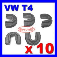 VW T4 TRANSPORTER CARAVELLE FRONT GRILLE TRIM CLIPS PLASTIC part ref 701805163