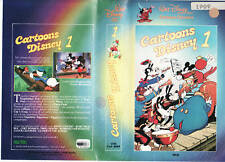 CARTOONS DISNEY 1 (1982) VHS