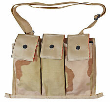Original US Army M16A2 MOLLE 6 SIX MAG AMMO POUCH Bandolier - Desert Camouflage