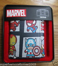 Avengers Age of Ultron Kawaii Marvel Comics Trifold Wallet BRAND NEW - KAWAII