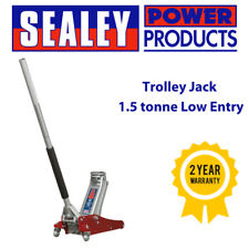 Sealey RJAS1500 Trolley Jack 1.5tonne Low Entry Aluminium Rocket Lift/Lifting