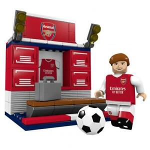 Official ARSENAL FC Build Your Own 89 Piece Brick Changing Room