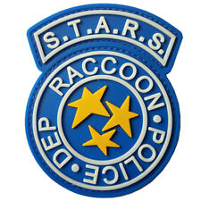 Resident Evil Raccoon City S.T.A.R.S. POLICE DEP. RUBBER PATCH GLOW IN DARK /02