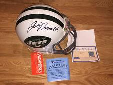 Joe Namath Autographed Signed On The Field Authentic NFL Jets Helmet Steiner