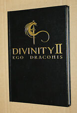 Divinity II Ego Draconis rare Promo Notebook / Booklet Xbox 360