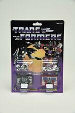 Transformers G1 Reissue Cassette Decepticon RAVAGE RUMBLE Action Figure