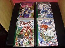 Ragnarok Tokyopop Japanese Manga Anime Lot Series #1-4 Myung-Jin Lee Near Mint