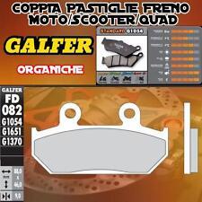 FD082G1054 PASTIGLIE FRENO GALFER ORGANICHE ANTERIORI HONDA VT 600 SHADOW 88-93