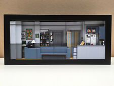 Seinfeld set shadowbox diorama (Deluxe) - picture memorabilia art collector gift