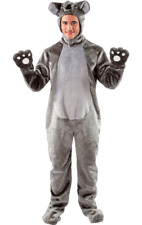 Disfraz Koala Oso Gris gigante Adultos Novedad Peludo Animal Fancy Dress