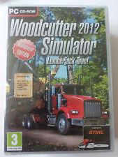 Woodcutter Simulator 2012 PC  EDIZIONE ITALIANA SIGILLATO
