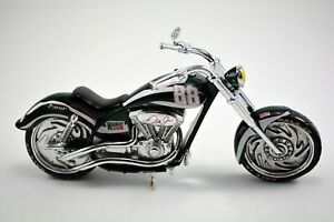DALE JR MOTORCYCLE MOUNTAIN DEW CHOPPER AMP #88 RARE +COA