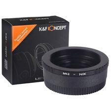 K&F Mount Converter M42 Lens on Nikon DSLR Mount Cameras