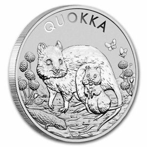 2021 P Australia Quokka 1 oz Silver Coin BU The Perth Mint