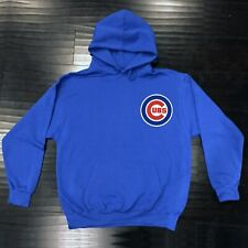 Chicago Cubs Hooded Sweat Shirt Cotton Hoodie Adult Sweatshirt Chi Word Pocket