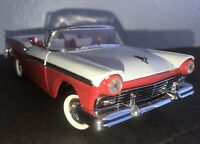 1957 Franklin Mint FORD FAIRLIN SKYLINER RED DIE CAST CAR NEW WITH BOX NO COA
