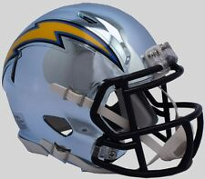 LOS ANGELES CHARGERS NFL Riddell SPEED Full Size Replica Football Helmet CHROME