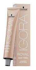 Schwarzkopf IGORA ROYAL Nude Tones Haarfarbe 60 ml zum Aussuchen NEU!