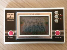 Nintendo Game & Watch Handheld * TURTLE Pont * Rétro console ultra rare TL-28