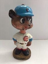 1960's Chicago Cubs Mascot Nodder (bobblehead) Vg/Ex
