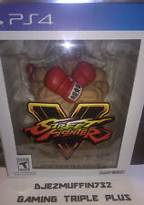 STREET FIGHTER V RYU STATUE + BOX (COLLECTOR'S EDITION) NO GAME, BOOK OR DLC