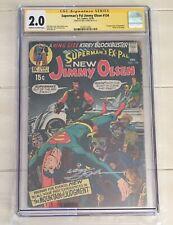 Superman's Pal Jimmy Olsen #134 CGC SS 2.0 Signed Neal Adams 1st Darkseid