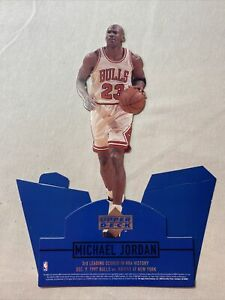 1998 Upper Deck NBA Michael Jordan 12 inch Stand Up Cut-Out Display Rare Vintage