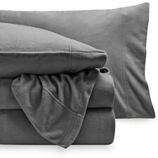 Super Soft Fleece Sheet Set - Deep Pocket - Cozy - All Season - Breathable