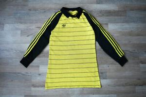 Adidas Vintage Retro 80'S West Germany Goalkeeper Jersey Trikot Maglia Shirt XS