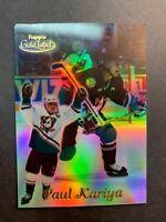 2000-01 Topps Gold Label Base #13 Paul Kariya Anaheim Mighty Ducks