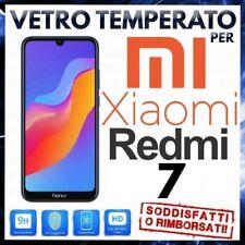 PELLICOLA in VETRO TEMPERATO per XIAOMI REDMI 7 Protezione Display Proteggi LCD