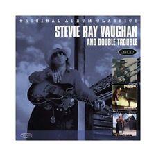 STEVIE RAY VAUGHAN - ORIGINAL ALBUM CLASSICS  (SOUL TO SOUL/+)  3 CD  NEU