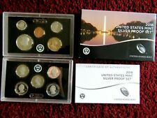 2018-s U.S. SILVER 10 coin Proof Set. Original as minted by U.S. Mint