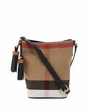 Новые женские BURBERRY Брит Парус мини сумка через плечо кисточкой ASHBY ручная сумка