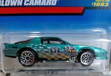 1999 Hot Wheels Chevrolet BLOWN CAMARO Diecast Car Collector #1083 NEW on Card