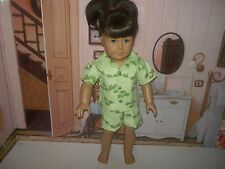 "Turtles  doll pajamas  fits 18"" American girl doll Lea Clark"