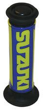 Manopole blu marca Suzuki per moto