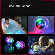 Kids Baby LED Light Color Changing Bath Toy Waterproof Bathroom In Tub Fun Toys
