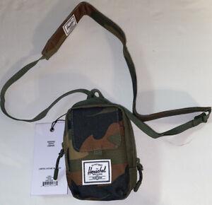 Herschel Unisex Woodland Form Camo, Small Crossbody Bag, NWT