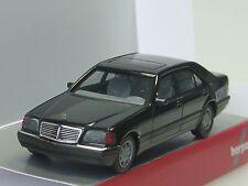 Herpa Mercedes S-Klasse V12 (W140), schwarz - 028776 - 1/87