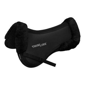 Thinline Trifecta Cotton Bottom Half Pad w/Sheepskin Roll - Shimmable #7416