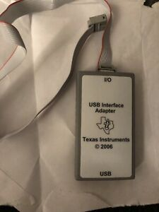 Ti Texas Instruments USB Interface Adapter USB-JTAG * HPA172 w/ JTAG Cable