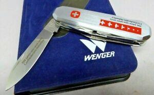 Wenger 85mm Metal 50 Traveler 700 Year Jubilee Swiss Army Knife
