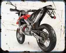Aprilia Sx 50 10 01 A4 Metal Sign Motorbike Vintage Aged