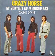 """Crazy Horse - Et Surtout Ne M'Oublie Pas - Vinyl 7"""" 45T (Single)"""