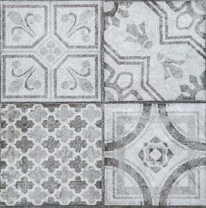 1m² Floor Tiles Self Adhesive Moroccan Style Vinyl Flooring Kitchen Bathroom