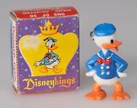 Marx Disney Disneyking Donald Duck in Original Box Vintage 1960s Figurine